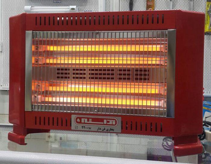 بخاری برقی فن دار آراسته