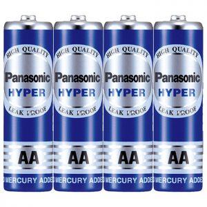 باتری قلمی پاناسونیک battery AA panasonic hyper